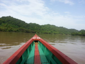 Boat to Yaxchilan 2